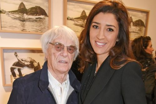 Bernie Ecclestone, 89, to become father for fourth time with wife Fabiana, 44