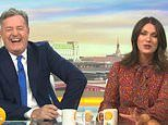 Piers Morgan pleads with Susanna Reid to strip off for her 50th