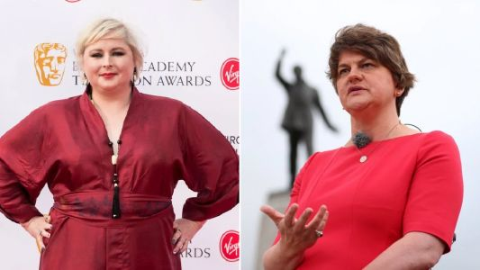 Derry Girls star Siobhán McSweeney calls the DUP 'a party of bigotry, exclusion and ignorance'