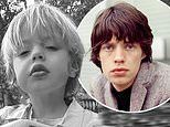 Mick Jagger and Melanie Hamrick's son Devereux is the spitting image of his father