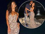 Leigh-Anne Pinnock puts on loved-up display with fiancé Andre Grey during romantic date in Mykonos