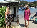 Singleton, 61, escaped to the Caribbean where she funded the two month stay doing odd jobs