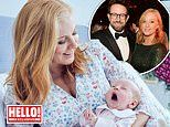 Sky News host Sarah-Jane Mee calls baby girl Rae Brenda after being inspired by rainbows in lockdown