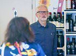 Jeremy Corbyn DEFIES mask rules by shopping without a face covering