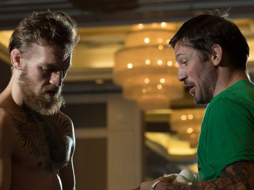 John Kavanagh says that's the 'best version' of Conor McGregor 'so far,' and the fighter will be back in the gym on Monday