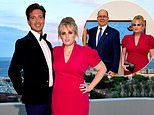 Rebel Wilson and Prince Albert of Monaco pose for snaps together