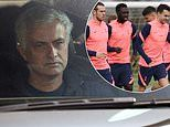 Jose Mourinho 'held FOUR-HOUR talks with Tottenham players after he was sacked on Monday'