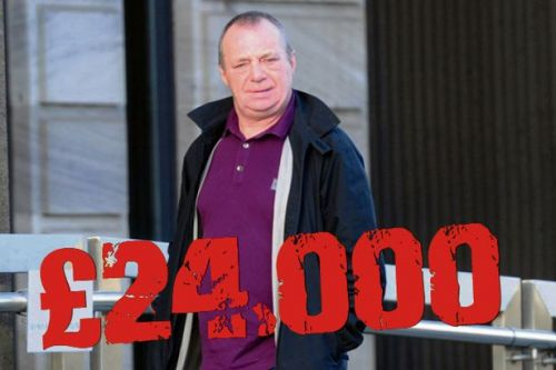 Glasgow gangster Eddie Lyons ordered to pay £24k after dirty money probe
