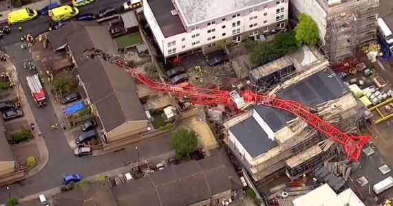 Woman, 85, killed after crane collapsed on house is named