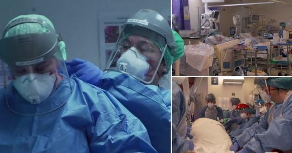 A&E doctor explains why patients are admitted to intensive care