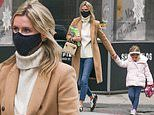 Nicky Hilton wraps up with daughter Lily-James as they both brave the cold in NYC