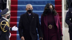 Why Kamala Harris, Michelle Obama and Hillary Clinton all wore purple at yesterday's inauguration