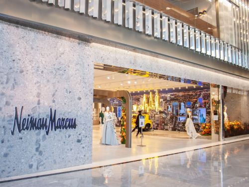 Developers are marketing bankrupt Neiman Marcus's flagship store - the heart of NYC's glitzy $25 billion Hudson Yards mega-mall - as office space