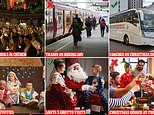 Christmas UK: Can you sing carols and when will trains be running?