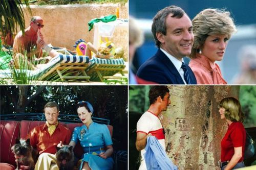 Most shocking royal scandals as Prince Andrew steps down - from toe sucking to nudity