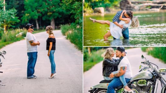 Photographer sets up blind date photoshoot and the pictures show a lot of chemistry