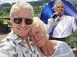 X Factor star Rhydian Roberts says his mother is in a 'critical condition' after falling