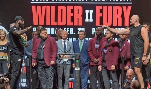 Tyson Fury channels 'Ricky Hatton days' and promises knockout win over Deontay Wilder