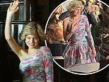 The Crown: Emma Corrin is the spitting image of Princess Diana in a replica Catherine Walker gown