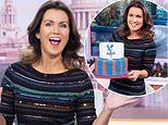 Susanna Reid joyfully celebrates her 49th birthday on Good Morning Britain with 'Mute Piers' button