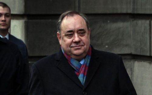 Alex Salmond appears in court accused of offences against 10 women including attempted rape