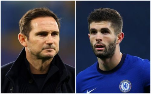 Christian Pulisic sends message to Frank Lampard after Chelsea sacking