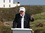 Donald Trump will NOT fly to Scotland to play golf at his luxury resort