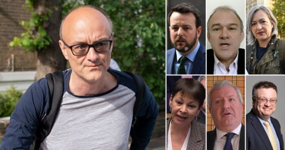 Six opposition leaders write to Boris for Dominic Cummings to be sacked