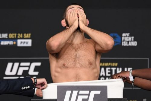 Khabib Nurmagomedov weigh-in conspiracy emerges ahead of Justin Gaethje fight