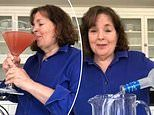 Celeb chef Ina Garten shares a video of herself mixing up an ENORMOUS Cosmopolitan