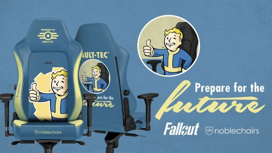 Park your behind on Skyrim, Fallout, and Doom with Noblechairs' upcoming Bethesda collection