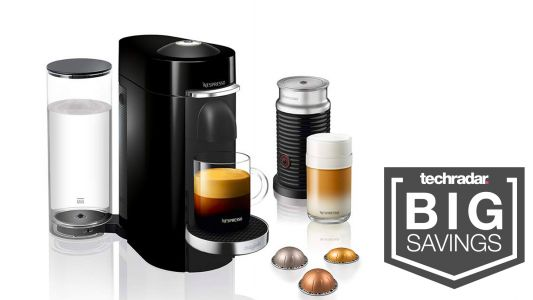 Espresso yourself and save AU$90 on the Nespresso Vertuo Plus with milk frother
