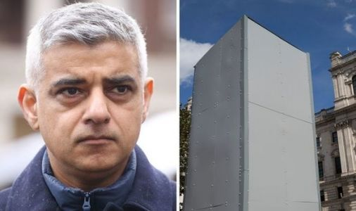 What a waste! Sadiq Khan spent EYE-WATERING figure on boarding up Churchill statue