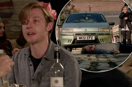 Corrie fans in tears as Daniel mistakes Bethany for Sinead after getting hit by car