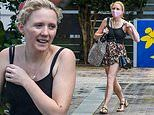 Nikki Webster cuts a casual figure as she arrives at her dance studio