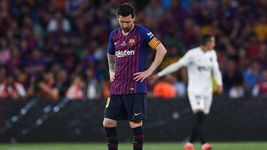 Barca's Valverde unfazed by Copa loss: 'I feel fine'