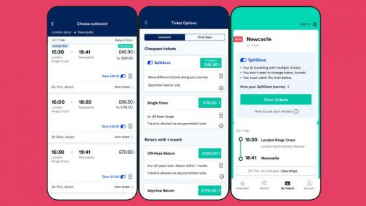 Trainline announces new ticket feature SplitSave