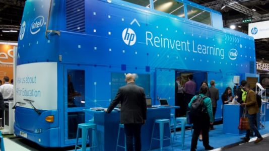 HP takes its education tools on tour
