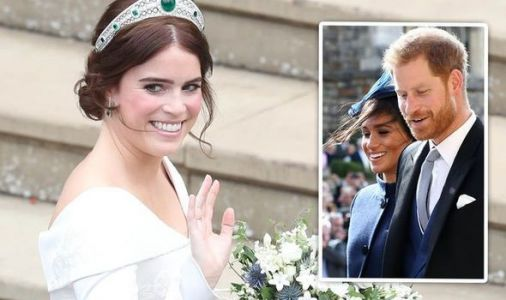 Zara Tindall's cheeky comment to Harry during Eugenie's wedding revealed by lip reader