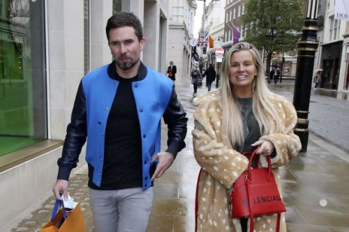 Kerry Katona enjoys shopping spree in Louis Vuitton after spending £200k on art