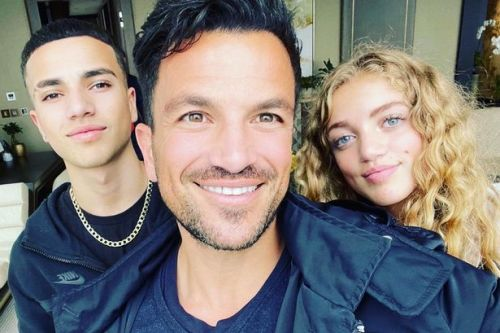 Peter Andre says he's terrified kids are growing up too fast as Junior is 'so different'