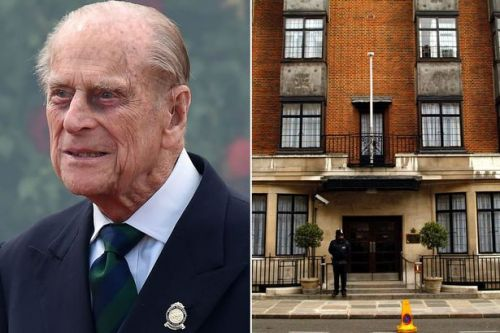 Prince Philip taken to hospital days before Christmas, Buckingham Palace confirms