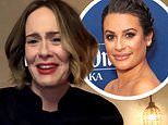 Sarah Paulson awkwardly avoids answering a fan question about Lea Michele