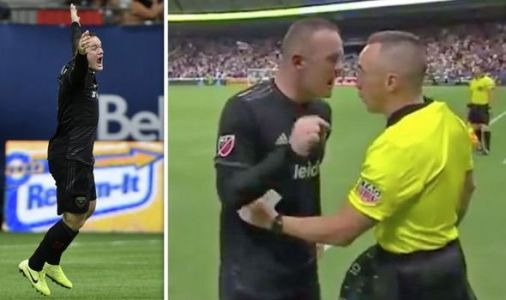 Wayne Rooney launches foul-mouthed rant at MLS referee and blasts DC United travel plans