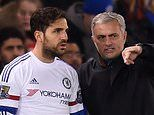 Cesc Fabregas picks out Wenger and Mourinho as the best two managers. as he overlooks Guardiola