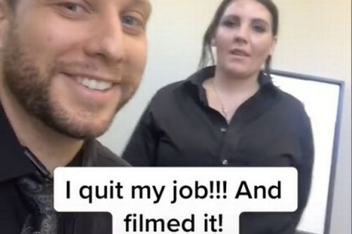 Man dramatically quits job after confronting his boss on TikTok