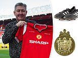 Manchester United favourite Norman Whiteside is auctioning off his medals and memorabilia