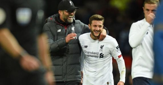 Klopp admits 'difficult' times with Lallana, but makes agreement