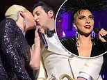 Lady Gaga kisses married trumpet player Brian Newman onstage following split from Christian Carino