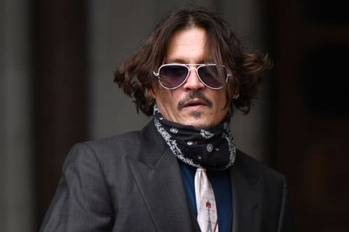 Johnny Depp denies inflicting huge bruise on Amber Heard shown in court